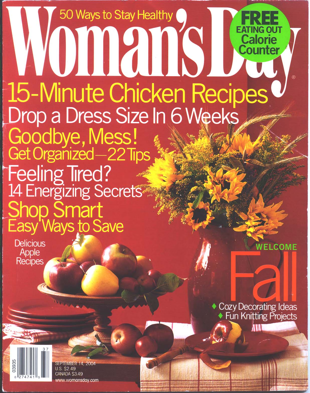 Woman's Day cover page - Sept. 14, 2004.jpg