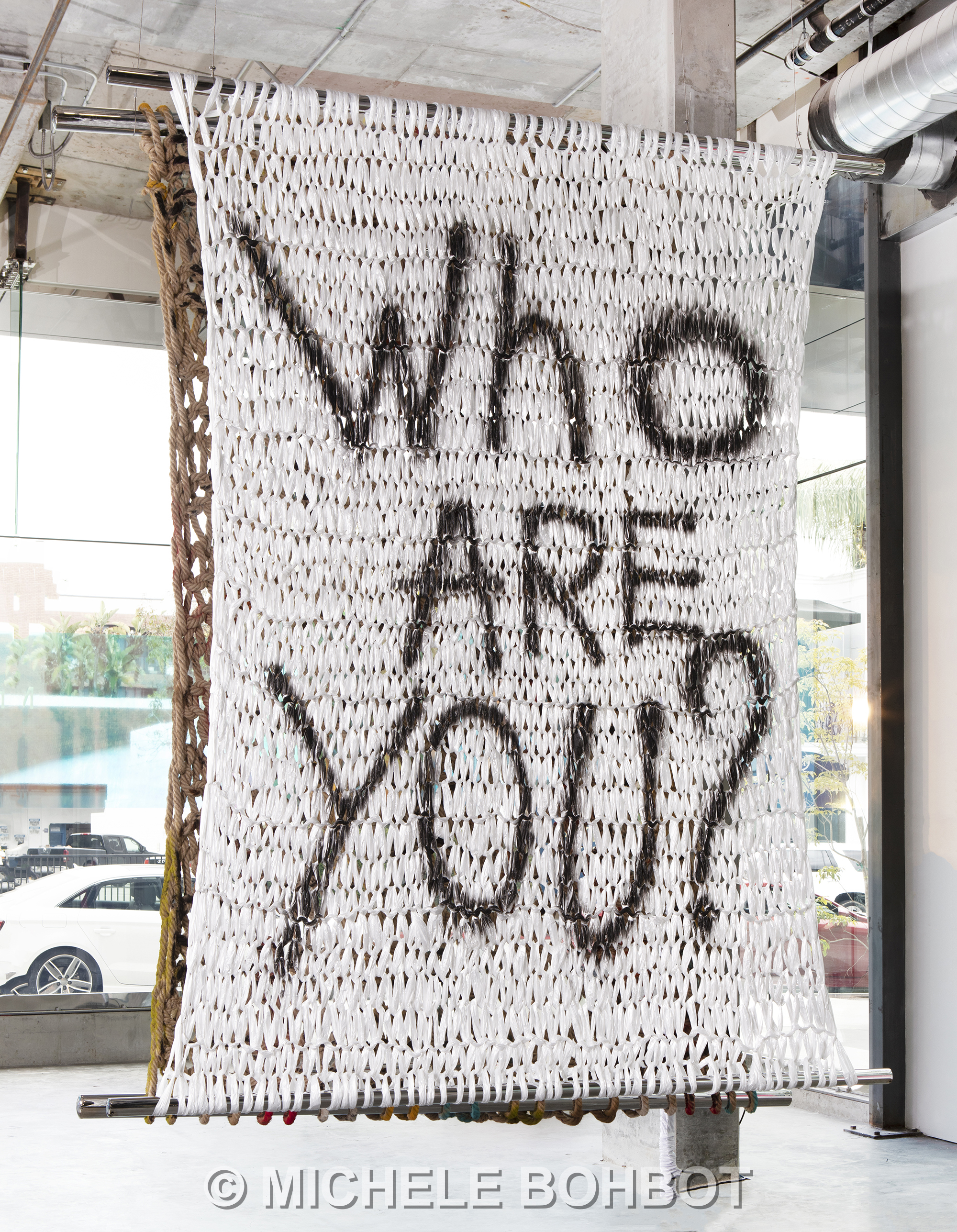 WHO ARE YOU? | 10 X 8'
