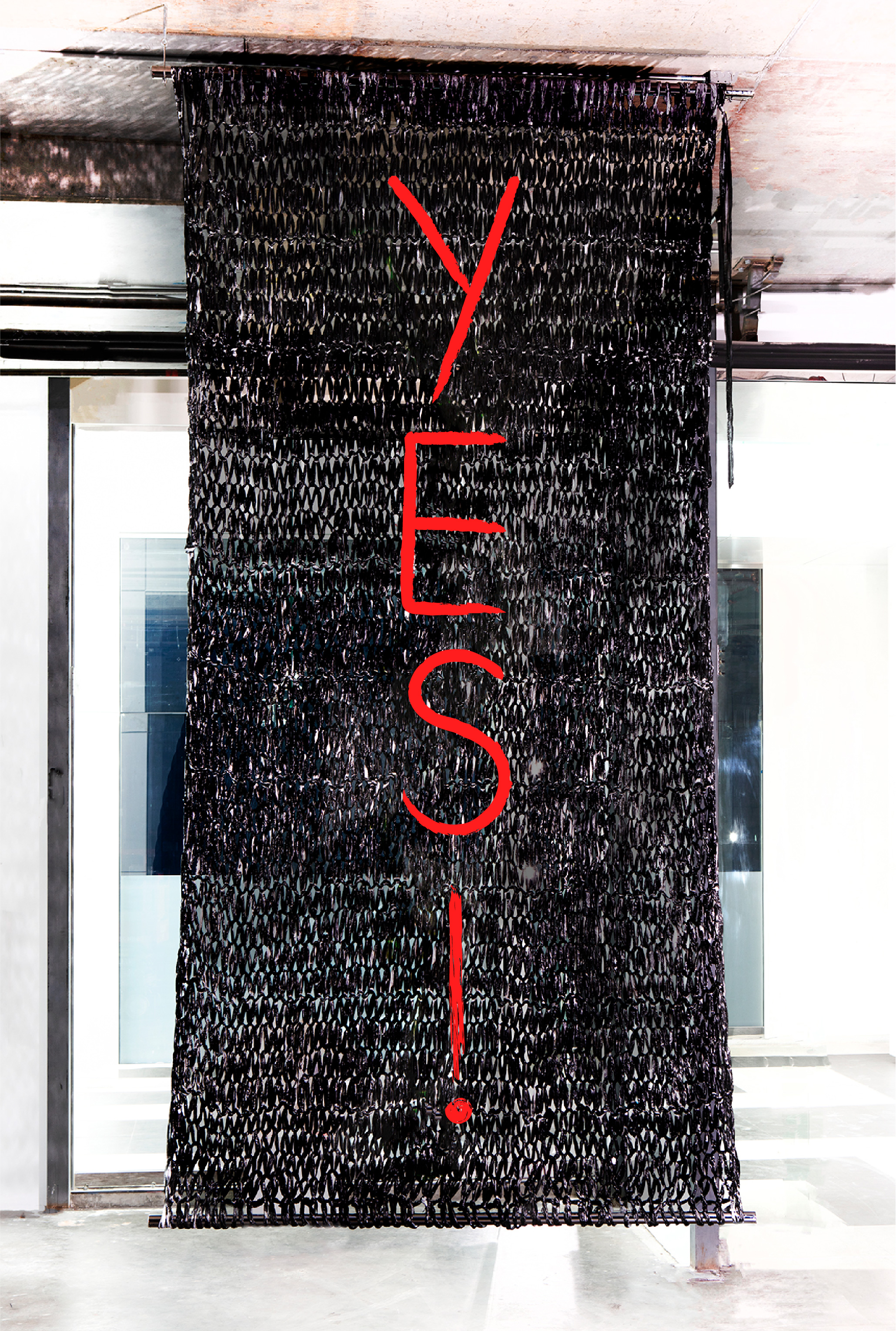 YES! | 14 X 8' | PAINT ON PLASTIC