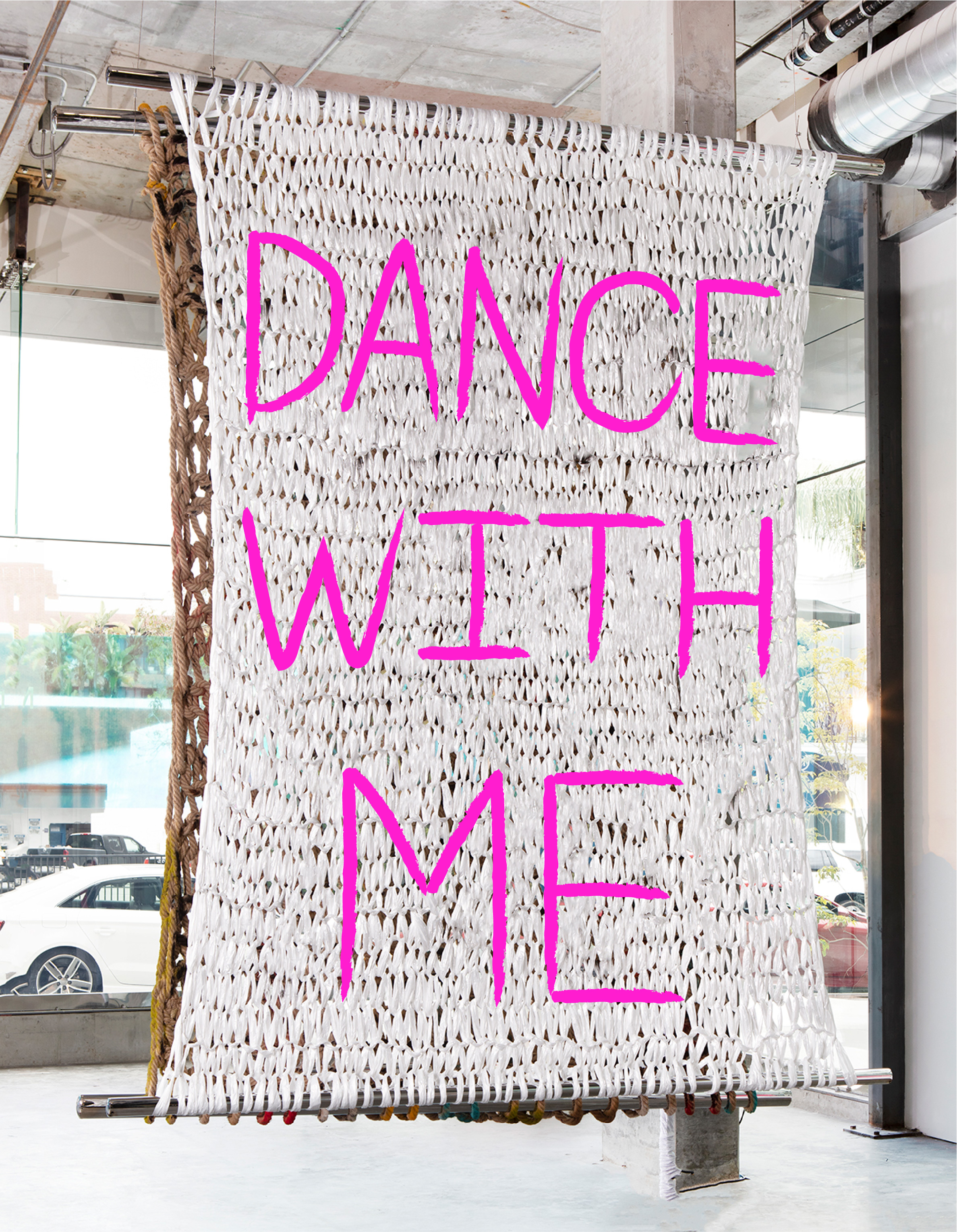 DANCE WITH ME | 10 X 8' | PAINT ON PLASTIC
