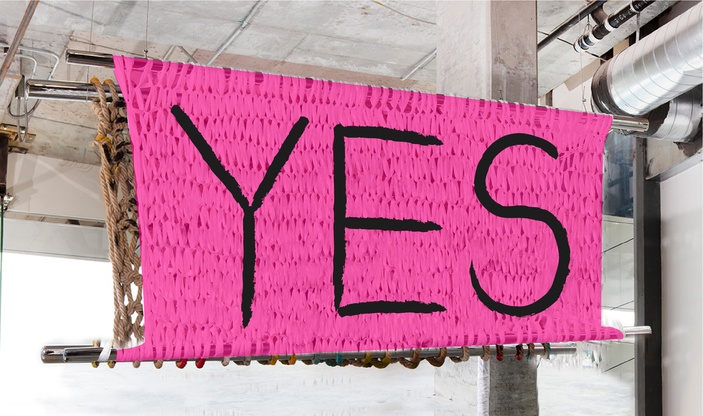 YES | 3 X 8' | PAINT ON PLASTIC
