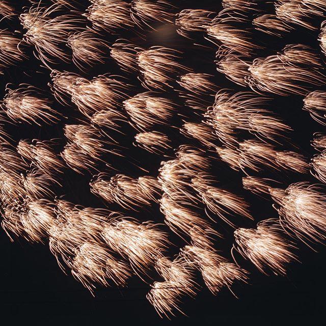 日本一小さな市野々の花火大会。 #和久屋傳右ヱ門 #和久傳 #天満神社 #久美浜