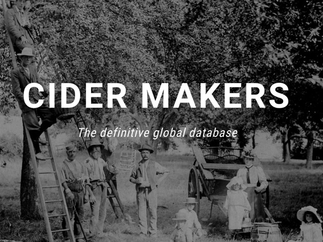 A global directory of cider makers. List your cidery and  connect with makers everywhere .