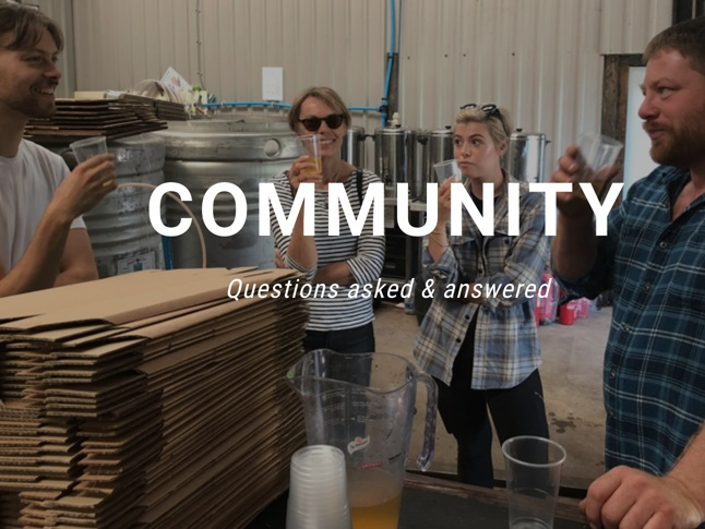 A community helping each other. For advice on all things cider,  ask questions & get answers here .