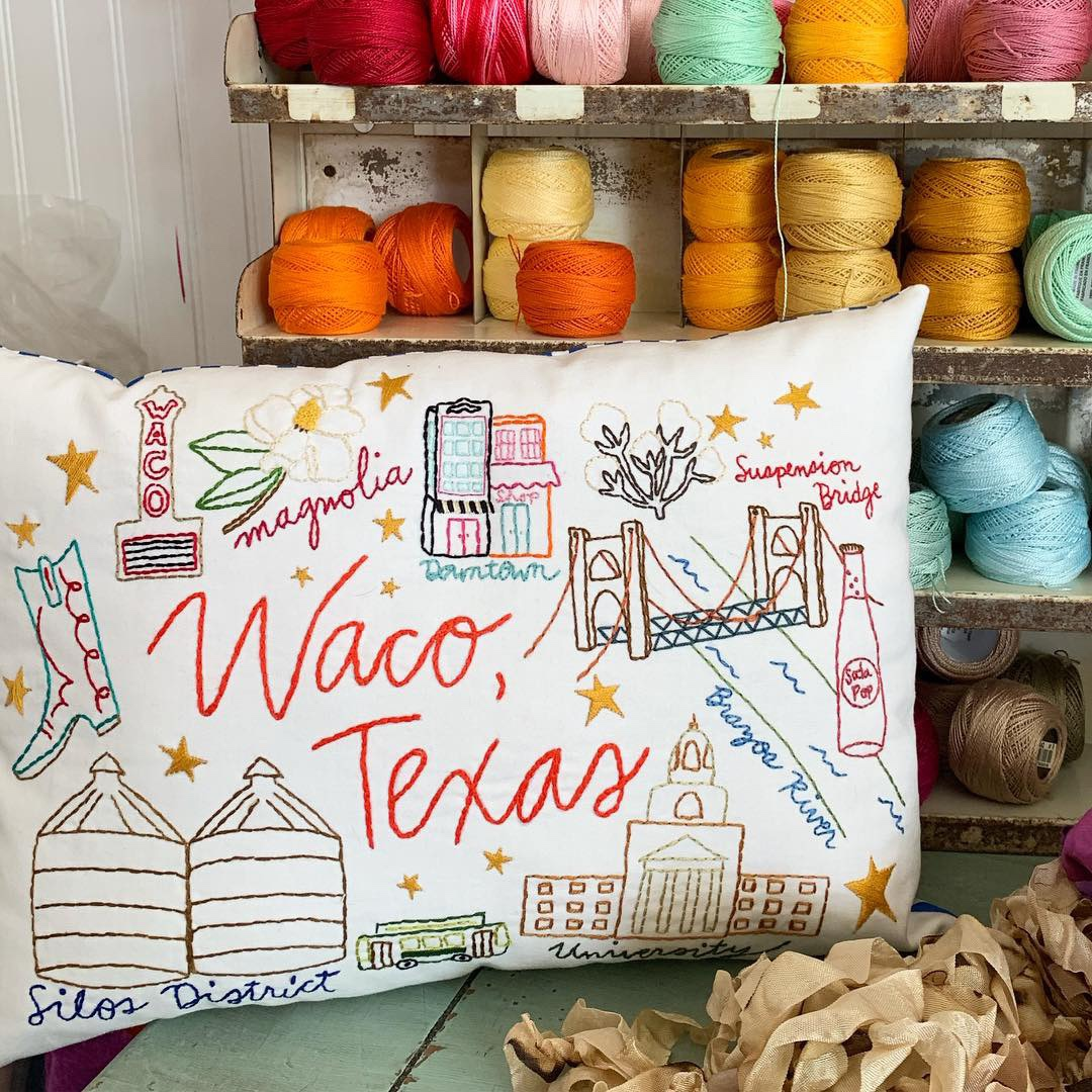 waco embroidery sampler kit - now available at Paper Crown and my etsy shop!