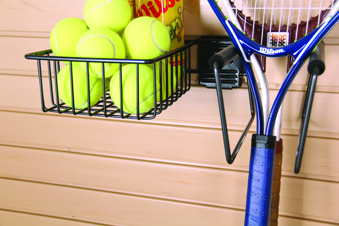 Tennis Accessory Rack