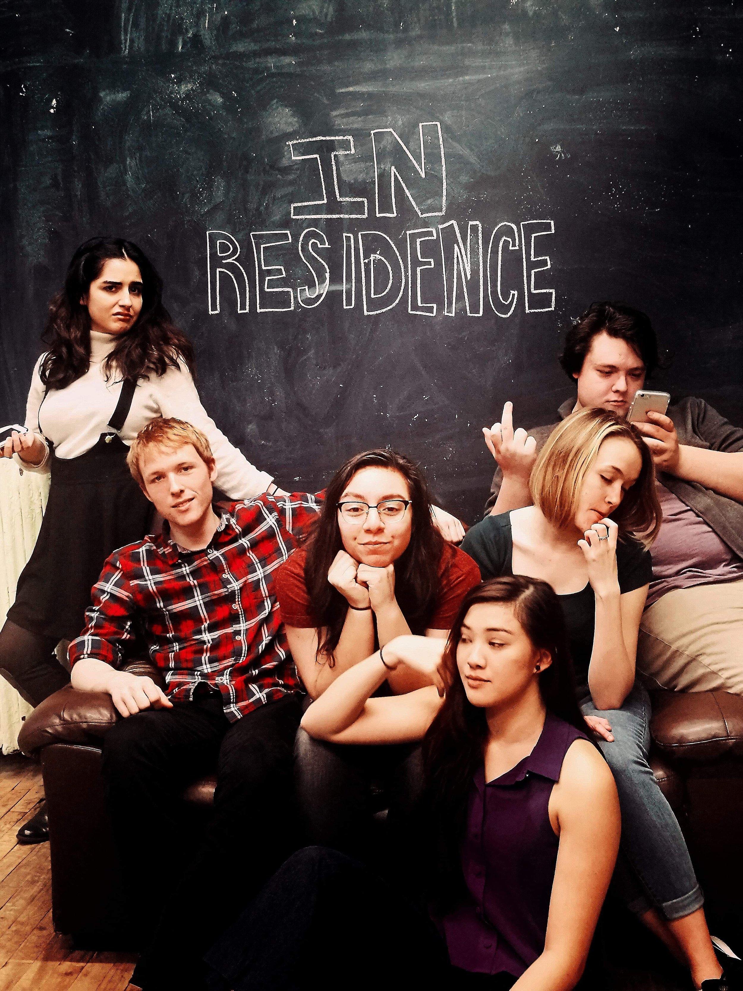 """Amber as Danny in """"In Residence"""" (Webseries)"""