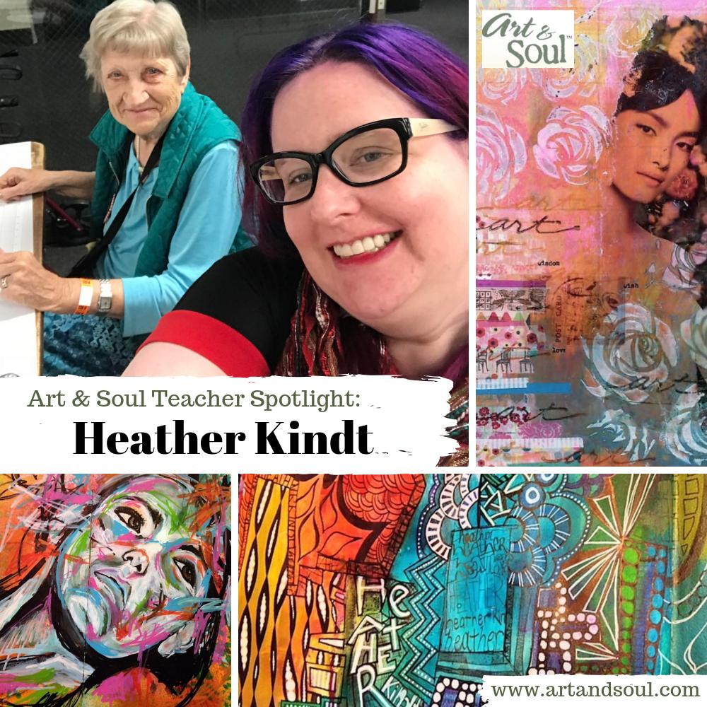 art and soul retreat Heather Kindt