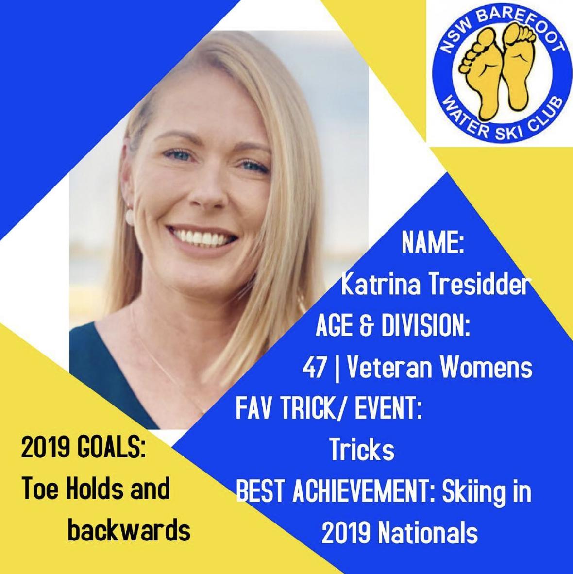 Katrina Tresidder   47 | Veteran Women's