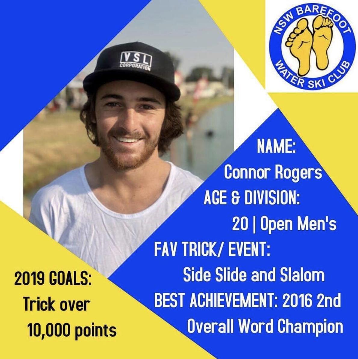 Connor Rogers   20 | Open Men's