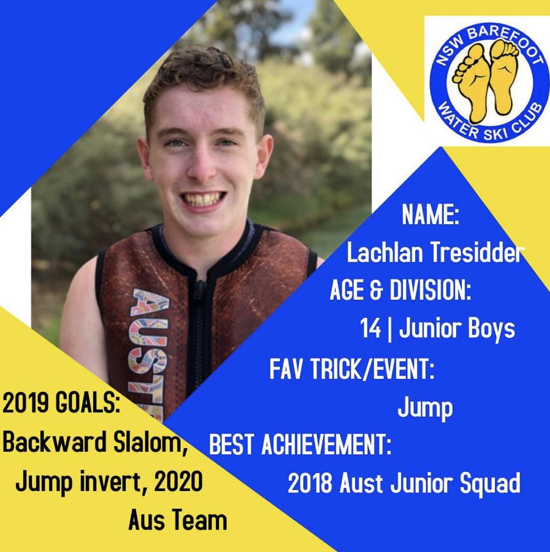 Lachlan Tressider   14 | Junior Boys