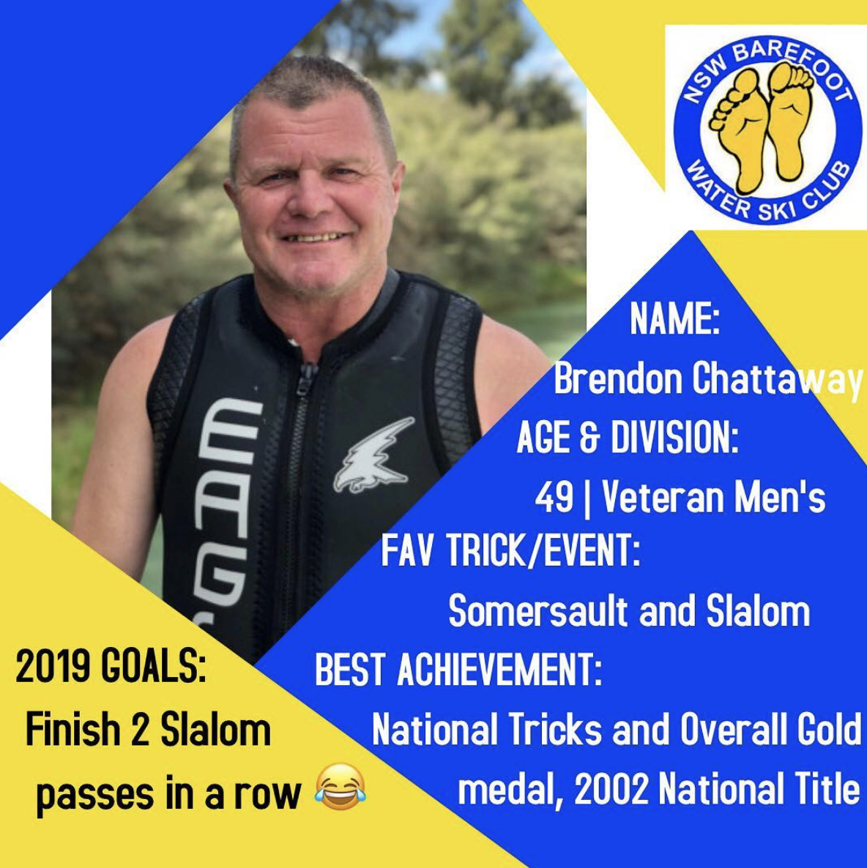 Brendan Chattaway   49 | Veteran Men's