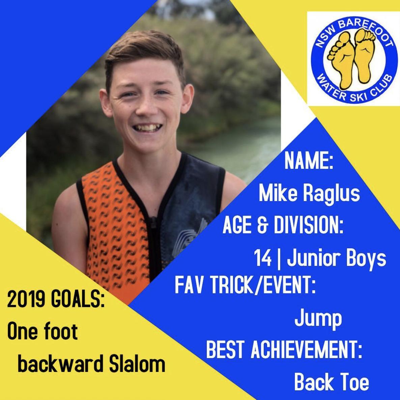 Mike Raglus   14 | Junior Boys