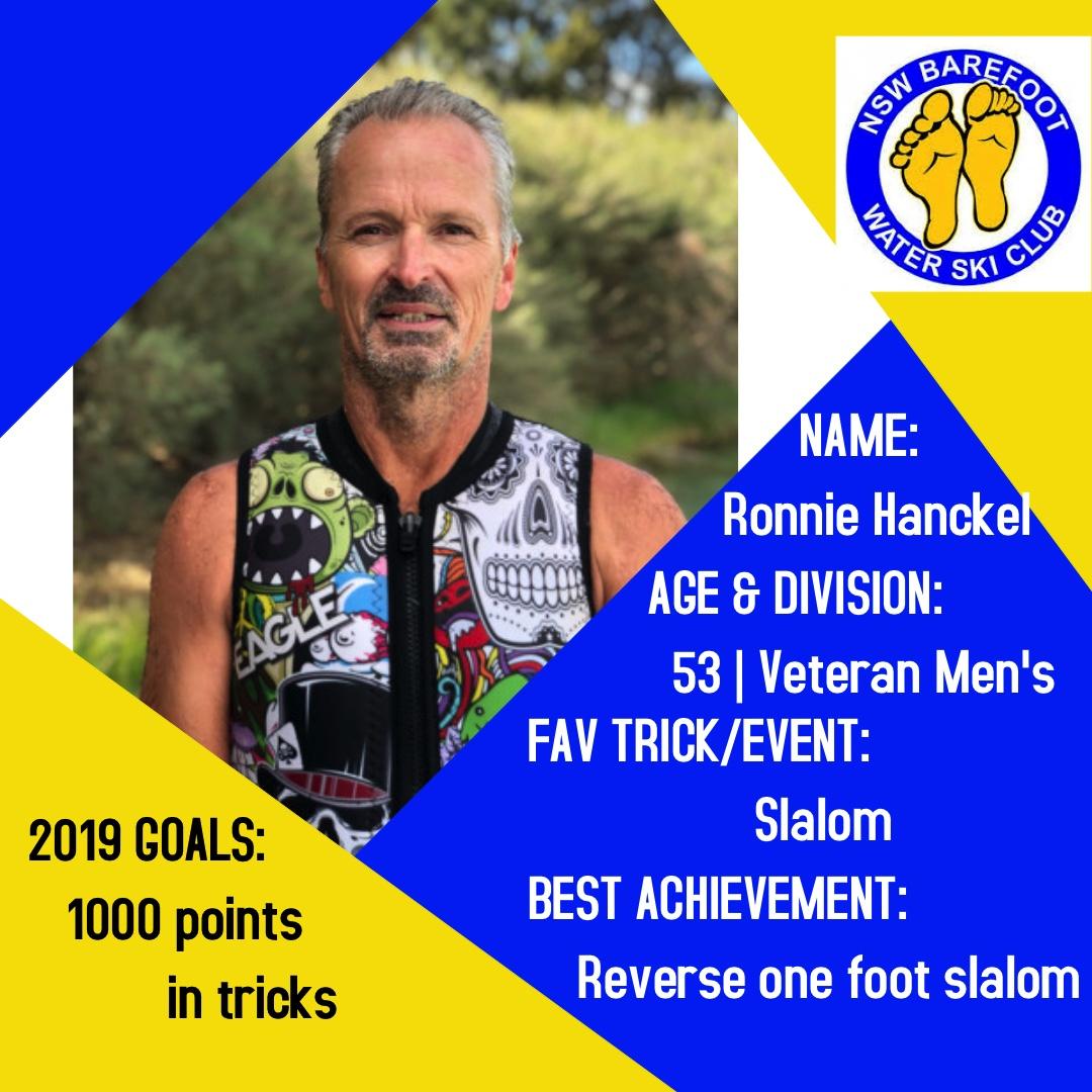 Ronnie Hanckel   53 │Veteran Men's