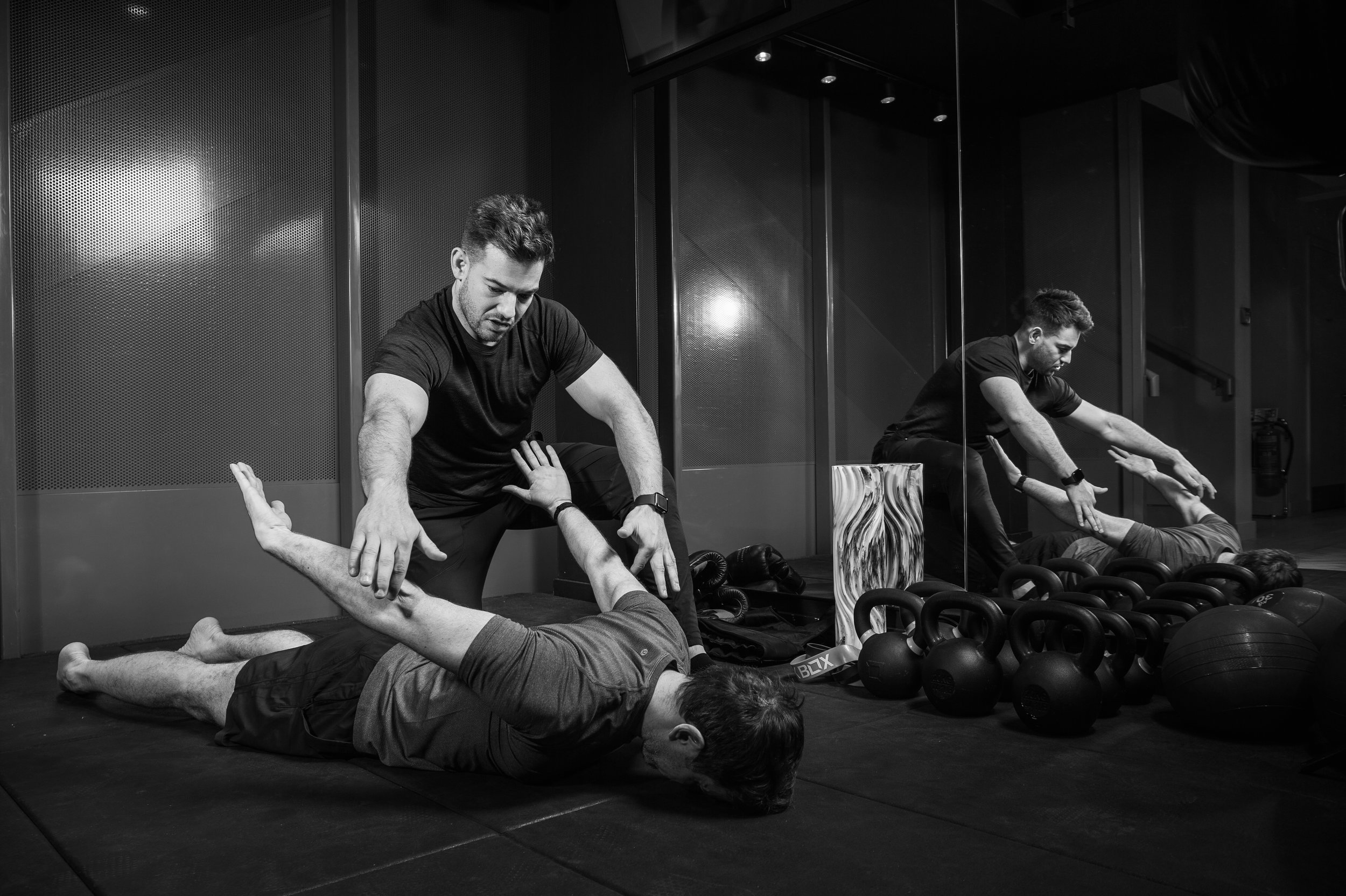 Whether you need injury rehabilitation, mobility training or your goal is performance or aesthetically driven, my varied service offering can help you achieve your objectives in whatever environment you feel most comfortable - FOCUS
