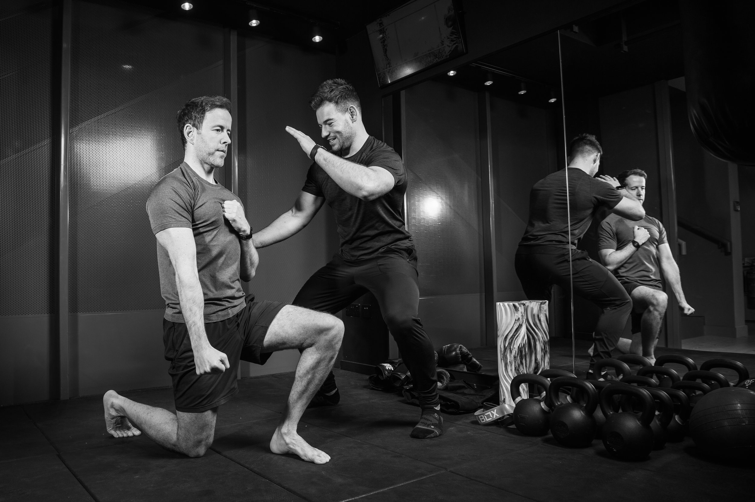 """""""Working with Harvey has redefined my perspective on fitness. His emphasis on mobility serves as a welcome deviation from the unfortunate fitness mantra cascaded all over social media where aesthetics is king and given higher priority than actual fundamentals of movement. With that being said, I have seen dramatic fat loss/muscle composition working with Harvey, but it has been a process which was laid on a foundation of proper technique and mobility. Having been born with erbs palsy (injury to the upper group of nerves) on my left arm, my range of motion has always been limited. Harv has worked with me on this limitation and I am now doing things I never thought I could do (deadlifts, back squats) and as I write this my arms are so sore because today I was able to do my first overhead press after months of targeted mobility work. I could not recommend Harv enough."""" - DANIEL KHAN - CLIENT TESTIMONIAL"""