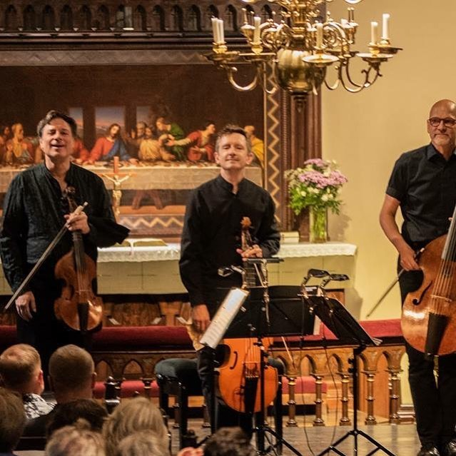 From last night at the BRQ Festival in Finland - perilous polyphony from Christopher Tye to J.S. Bach.
