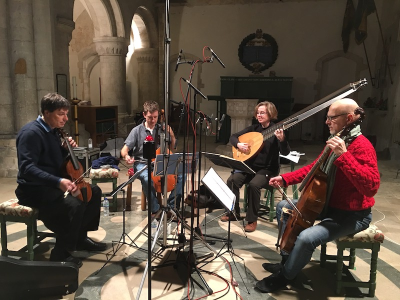 Locke Recording 2017 Boxgrove Priory