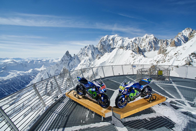 Movistar Yamaha MotoGp Mont-Blanc