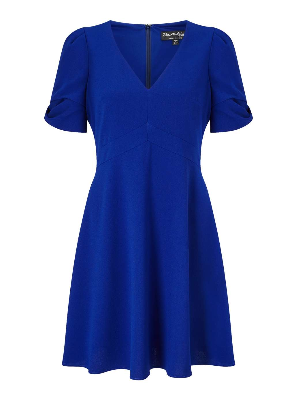 Miss Selfridge Bow Sleeve Dress