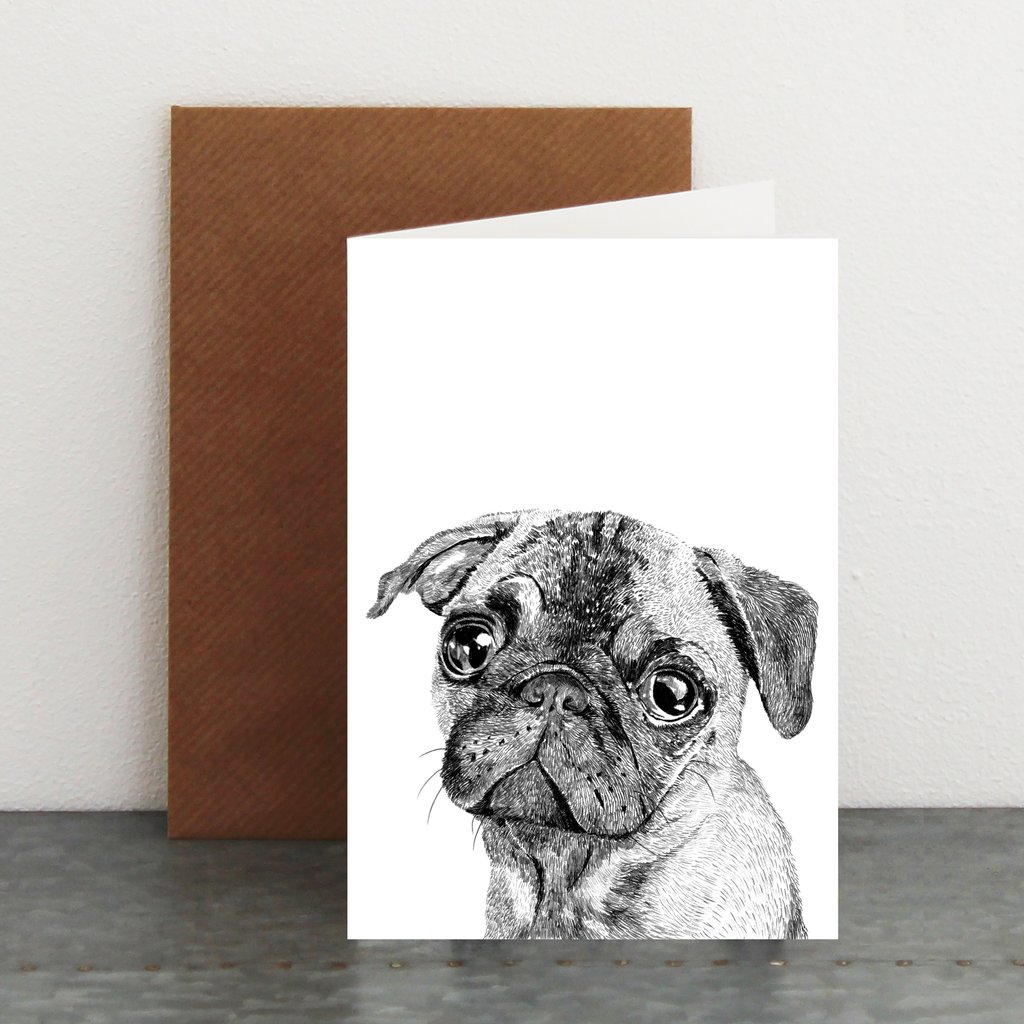 Ros Shiers - Albert the Pug - £3.50