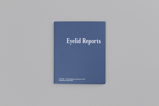 Eyelid Reports, Alex Mcnamee