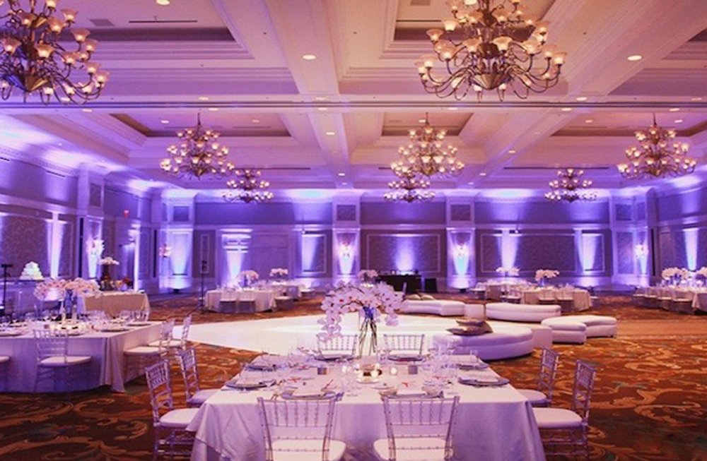 Uplighting… - Captivate your guests as they enter the room with something truly spectacular.Uplighting creates ambience and can transform your 'one of a kind' venue.