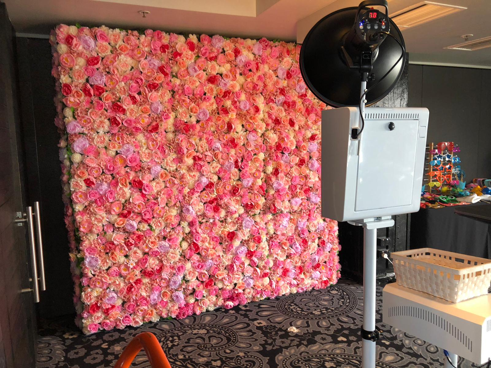 Emporium + Flutter Hearts Floral Wall