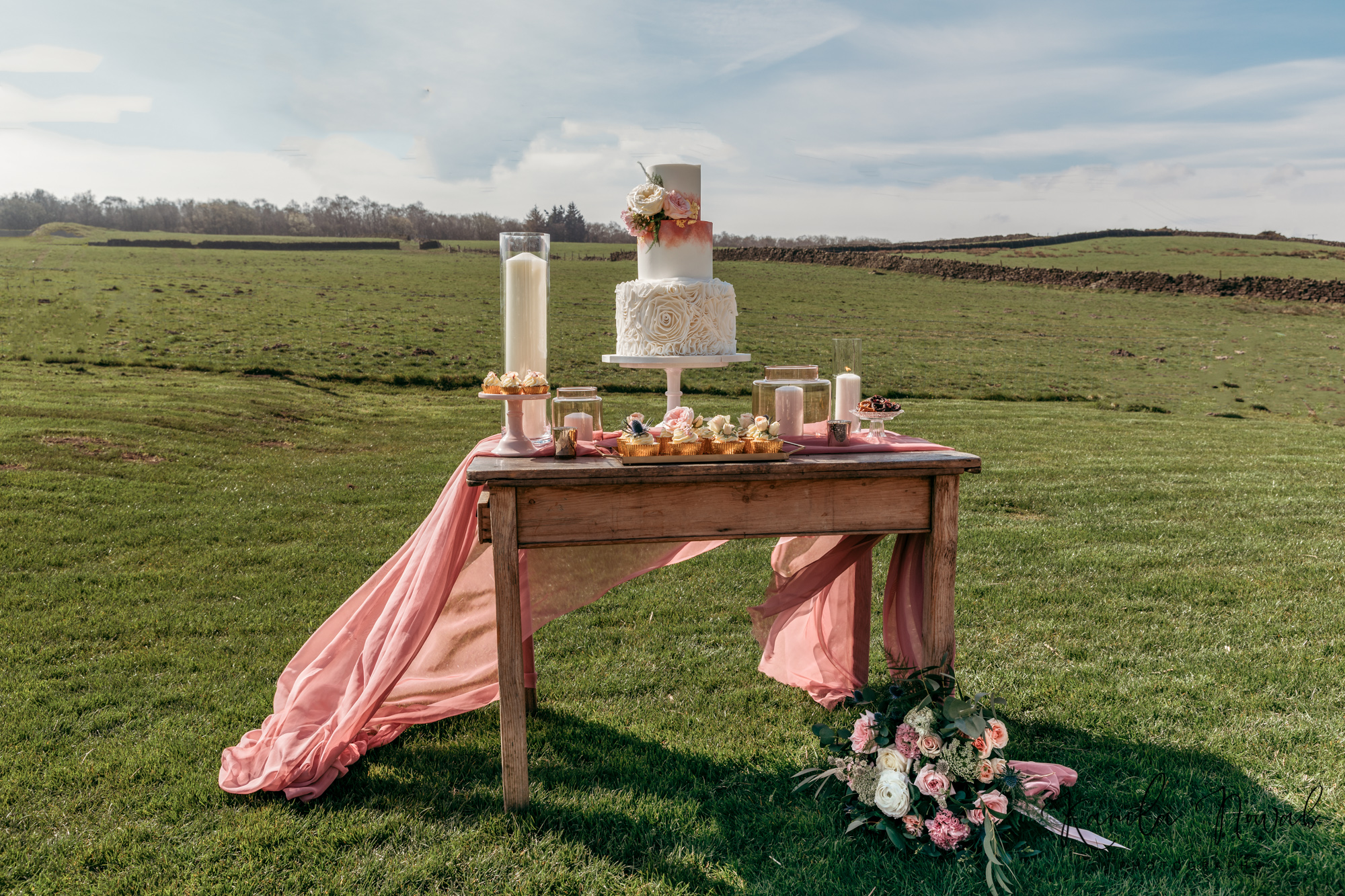 Romantic Moorland Styled Shoot