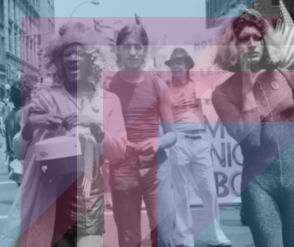 Marsha P. Johnson, Sylvia Rivera and other 2SLGBTQ+ activists gathered in New York City