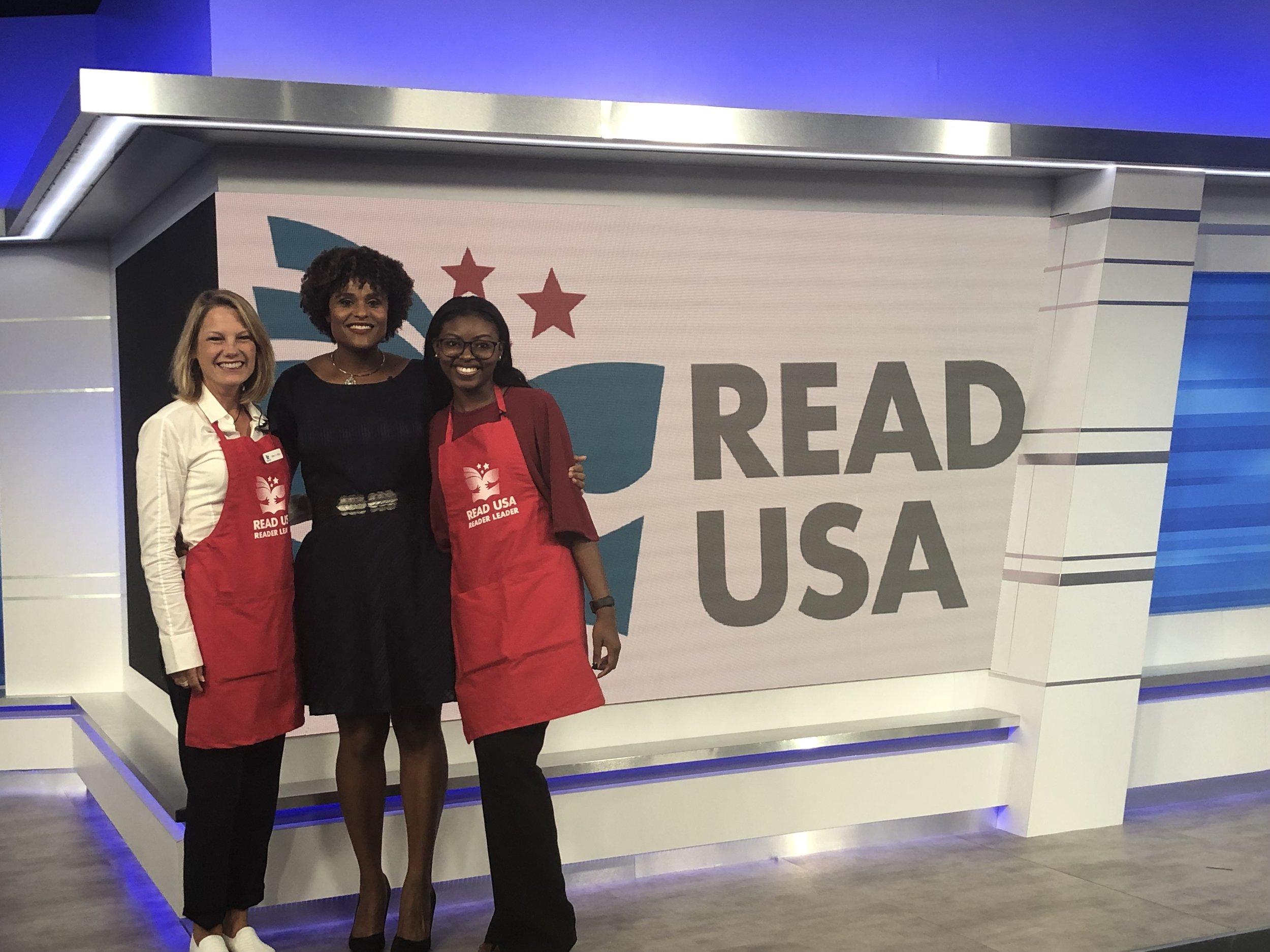 Student from the first READ USA Book Fair in 2011 discusses the impact of the program as she prepares to graduate with honors from high school  News4Jax/WJXT  5/26/2019