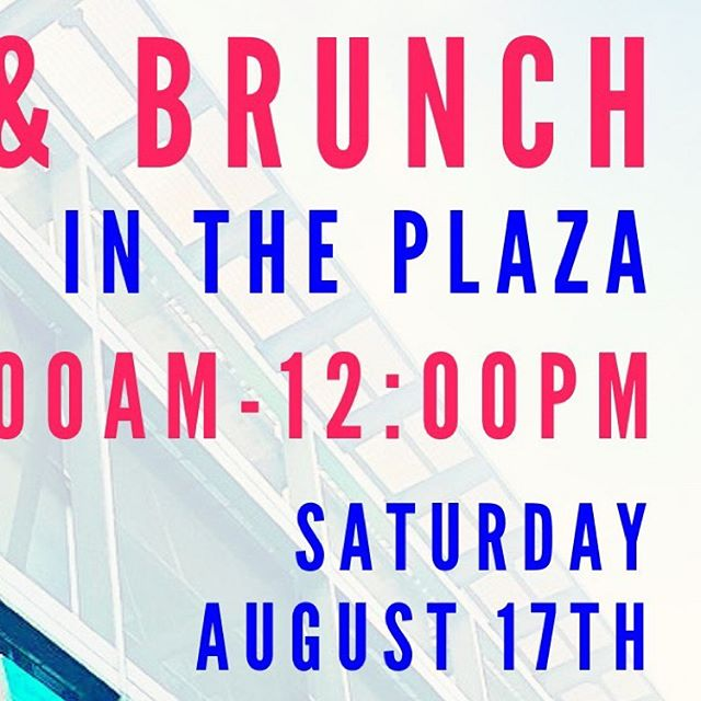 Join us for yoga in the plaza!💥💥💥 Start off the morning with an invigorating yoga class at 10:00am, taught by @corepoweryoga. Followed by a delicious Hero brunch buffet and mimosas until 12:00pm! What to bring: -Yoga Mat -Towel -Water -ID $25 ticket includes yoga, brunch and mimosas until 12:00pm and a raffle ticket for a chance to win several prizes!