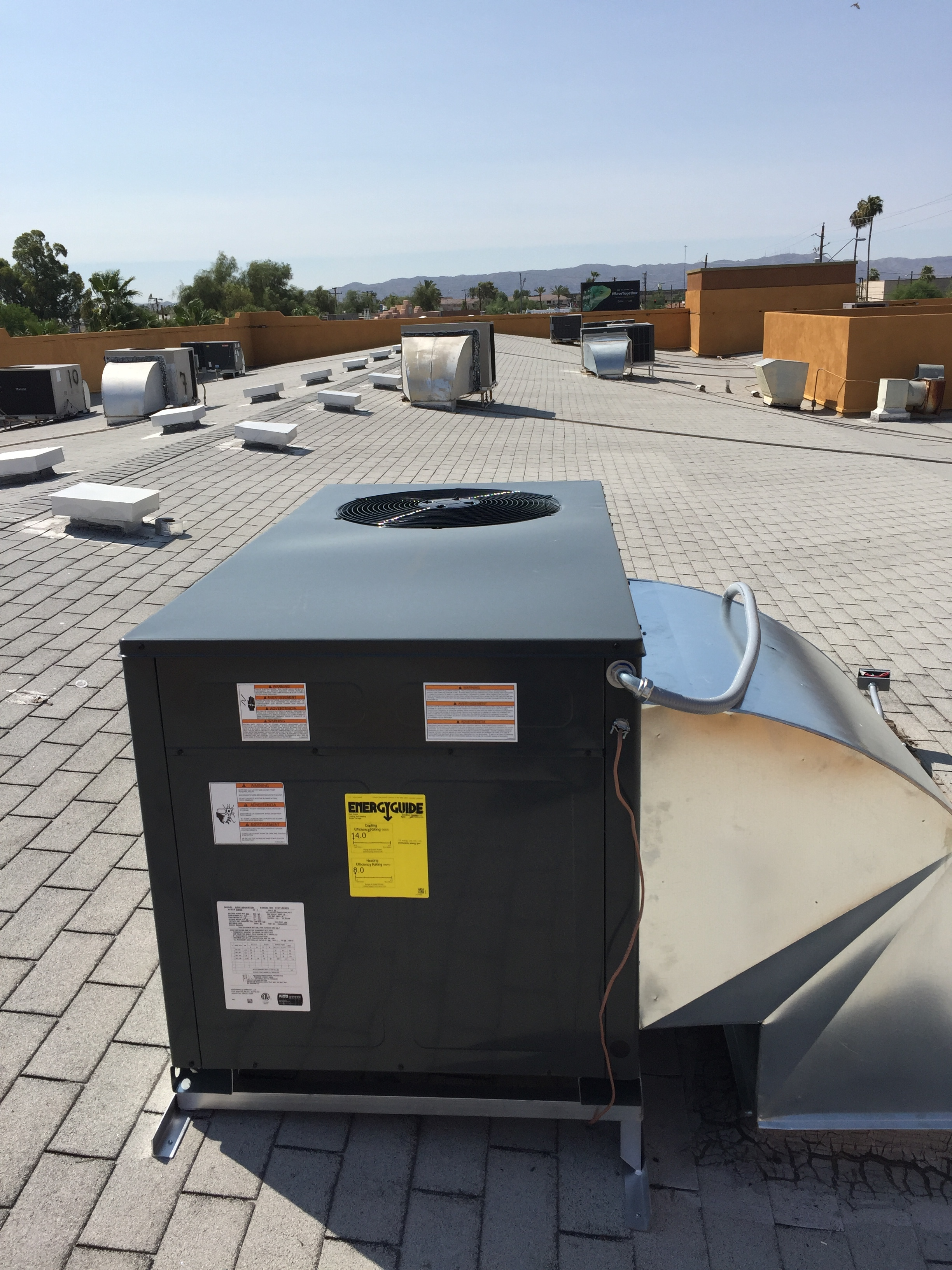 We can maintain commercial units…. -