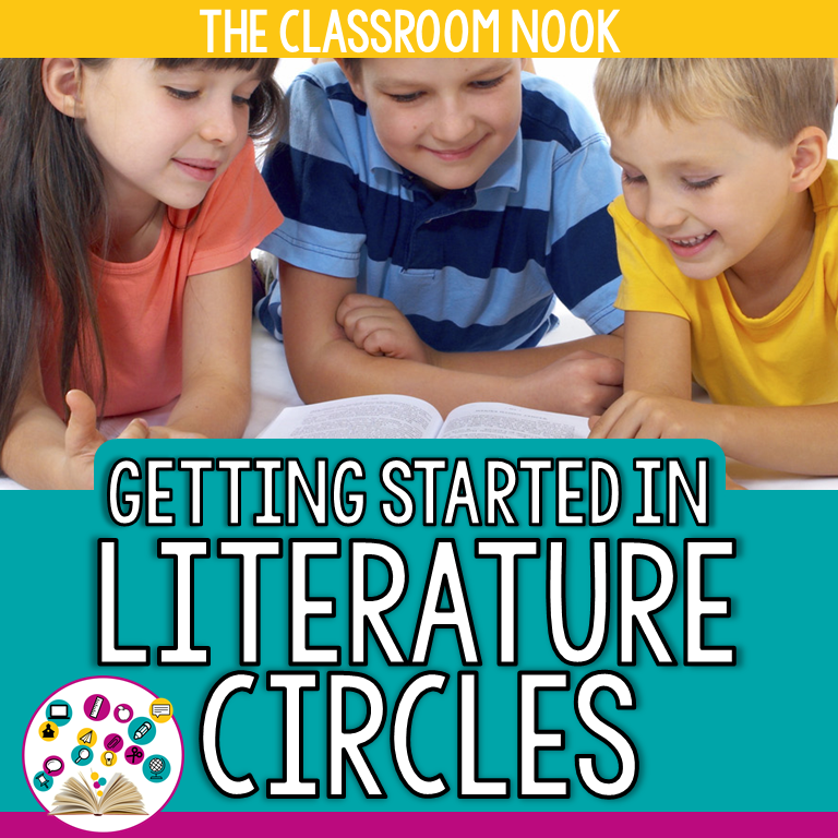 Check out this full unit on literature circles that will help you get literature circles up and running in your upper elementary classroom