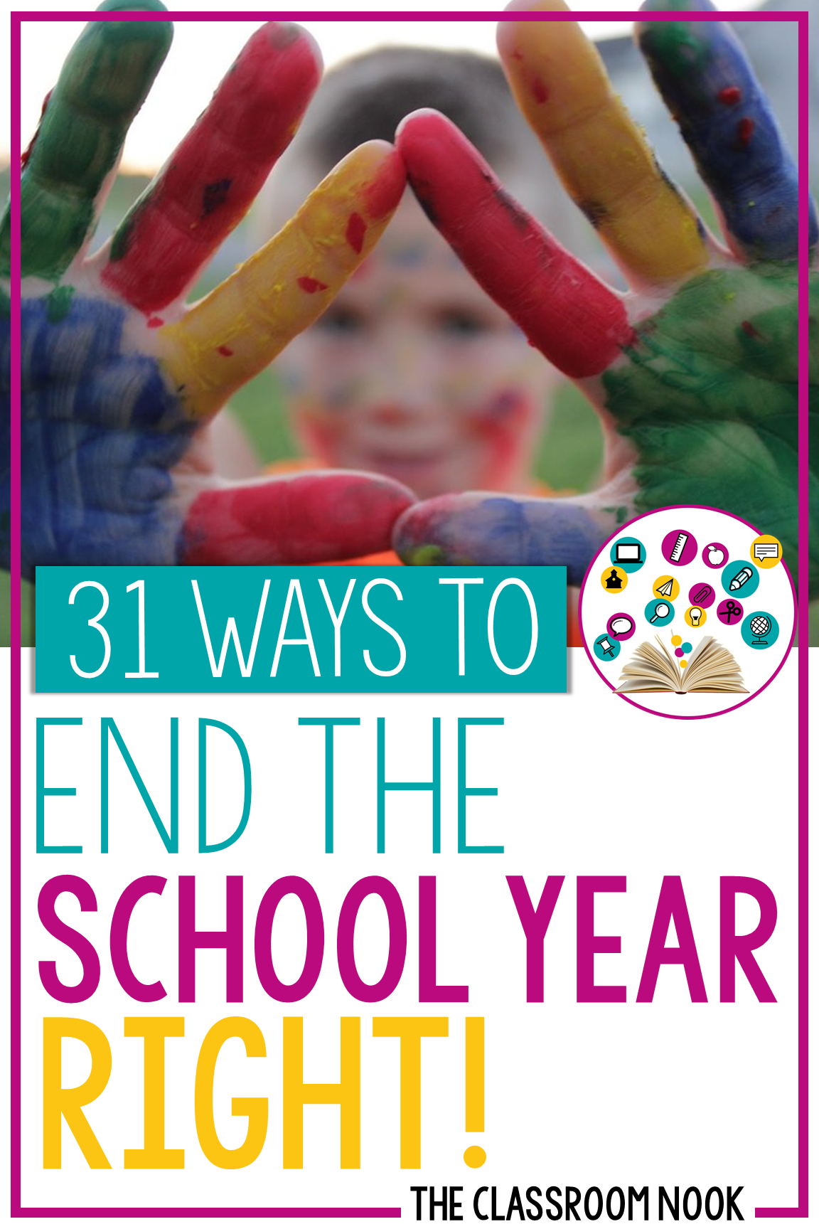 Looking for some great ways to wrap up the end of the school year? Check out this post with organizational tips, crafts and activities for the end of the year, ideas for student gifts and more! #endofschoolyear #endofschool #classroomorganization