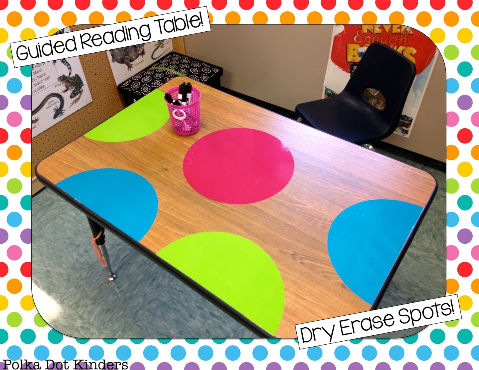 Guided Reading Dry-Erase Dots
