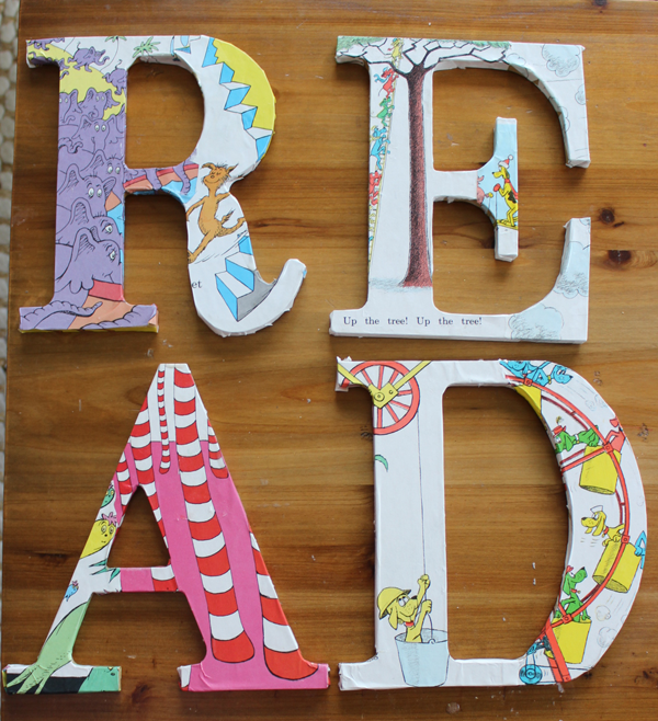"Wooden ""READ"" Letters"