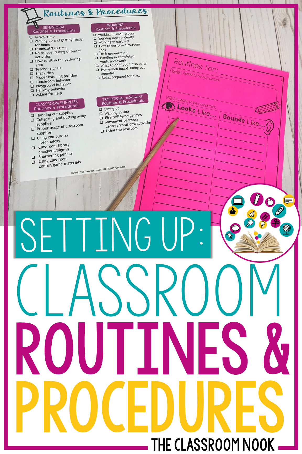 Establishing clear routines and procedures in your classroom is a key component to any classroom management system. This blog post will help you make sure you cover every detail in how to establish these clear classroom exceptions in the classroom from how to teach routines and procedures #classroommanagement #backtoschool