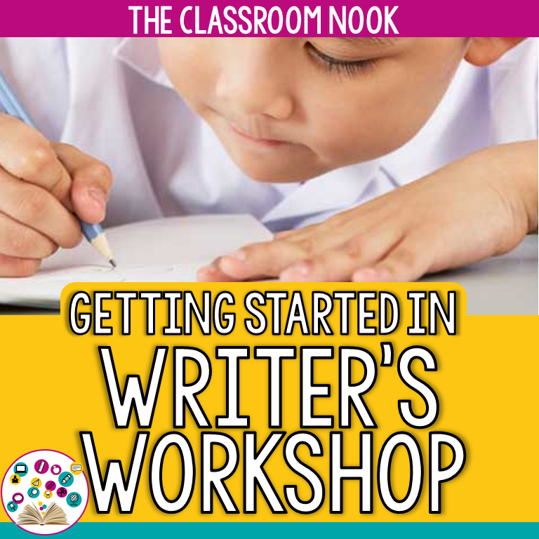 This unit will help you set up a solid writers workshop from start to finish. You'll find step-by-step guidelines that will help set you up for success all year long #writersworkshop #writing #backtoschool