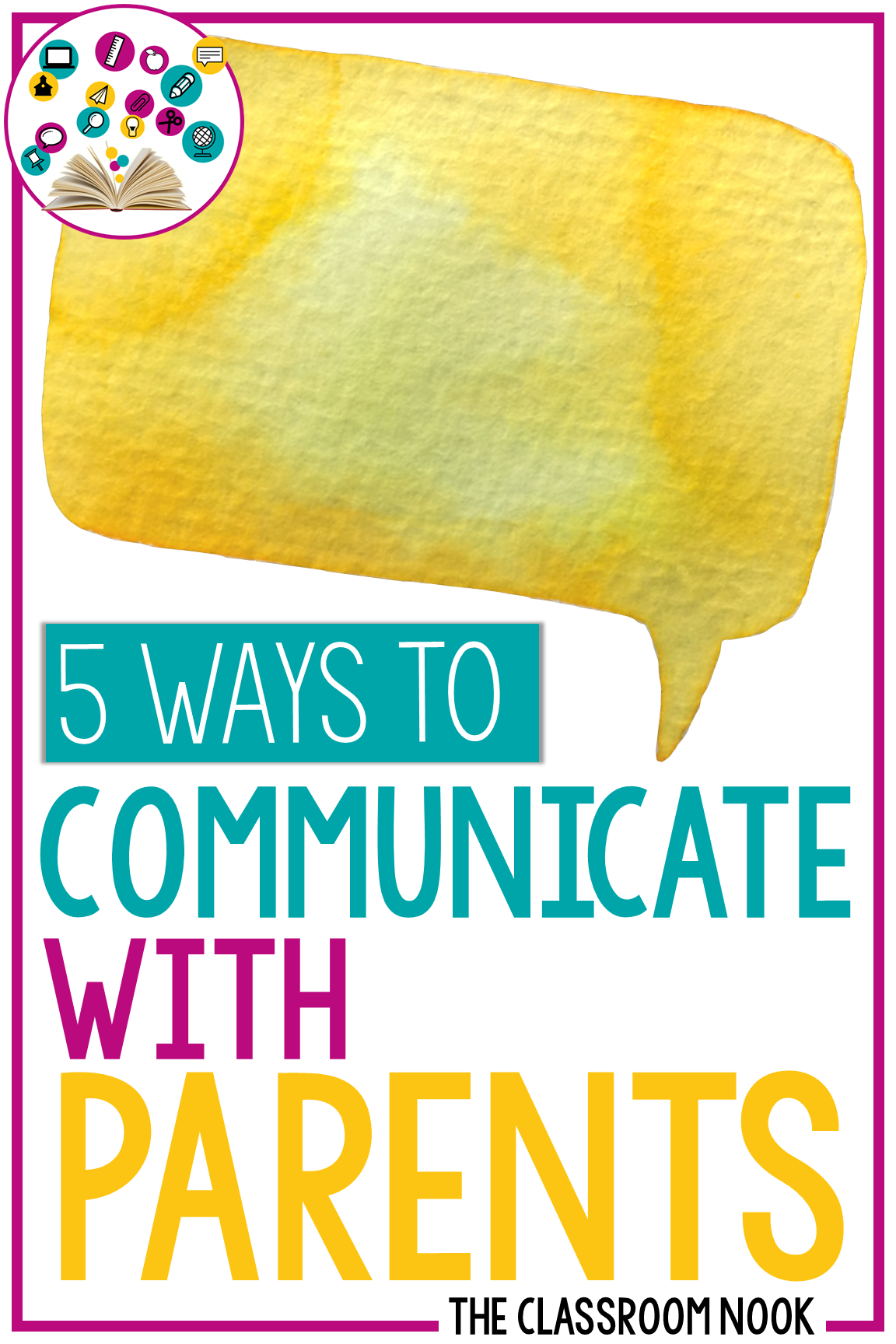 Looking for a new way to communicate with your students' parents? Try one of these 5 unique ways to build a strong school-to-home relationship. #parentcommunication #backtoschool