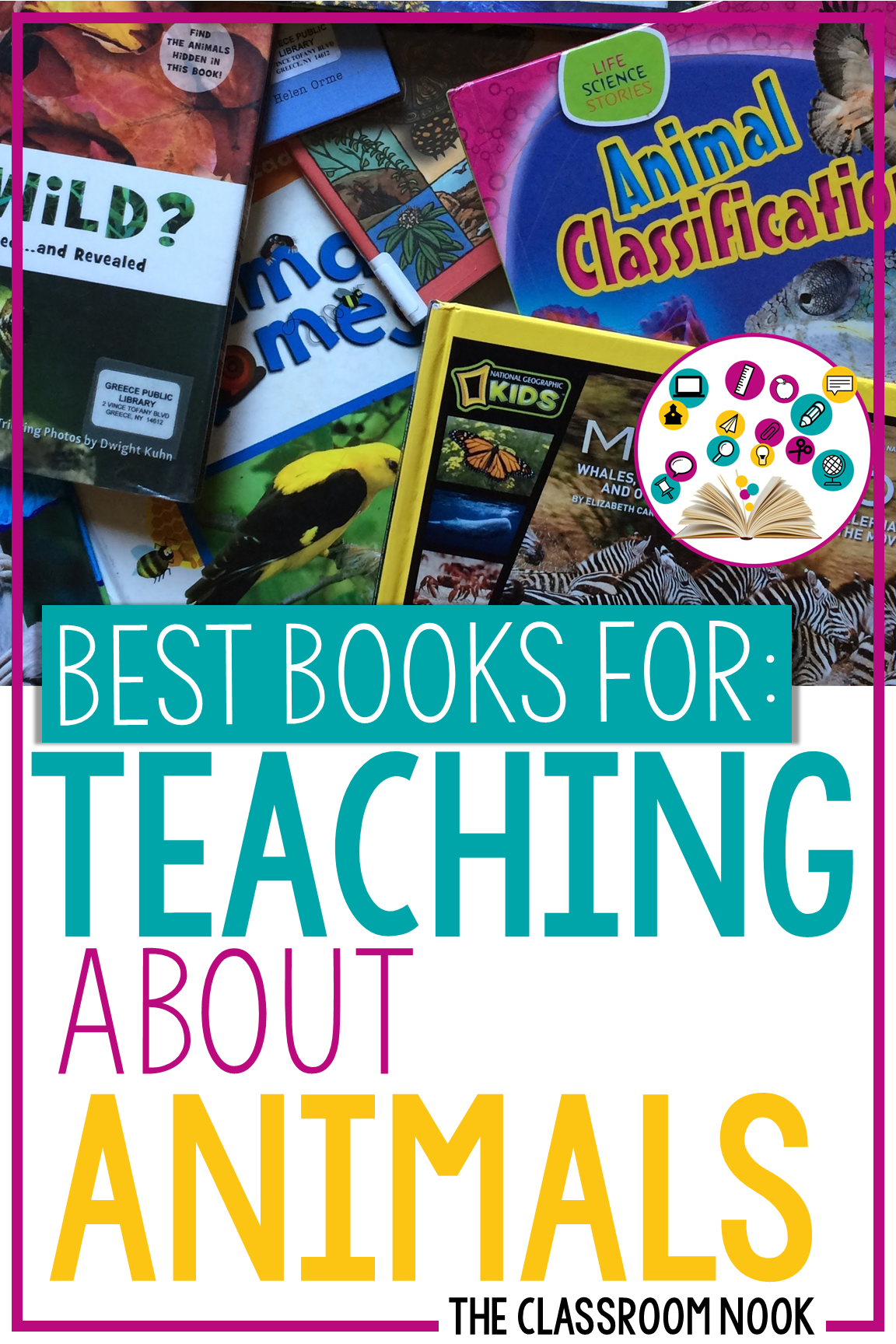 Check out this video where I feature my favorite books to use when teaching about animals in the upper elementary classroom #science #teachinganimals