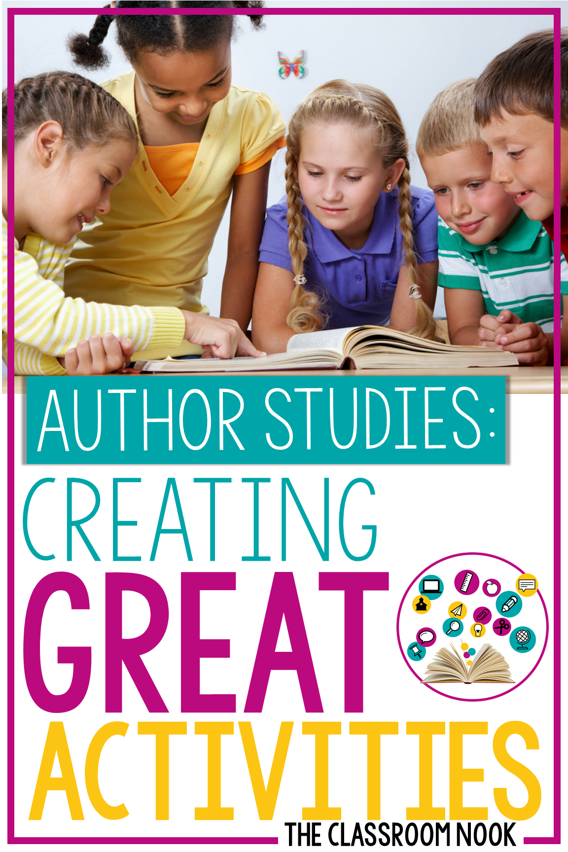 Author Study Series:  Learning Response Activities