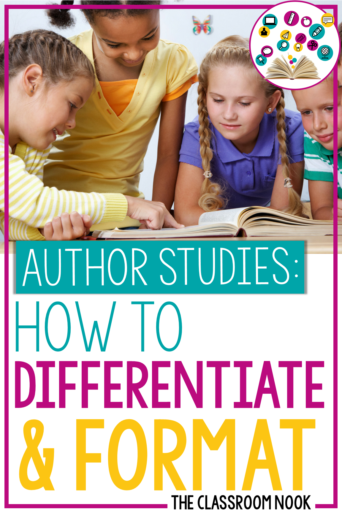 Author Study Series:  Differentiating and Formatting