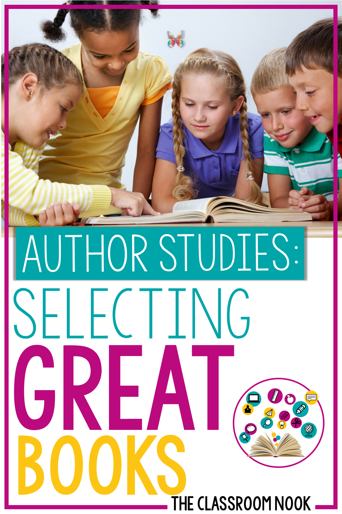 Author Study Series:  Book Selection