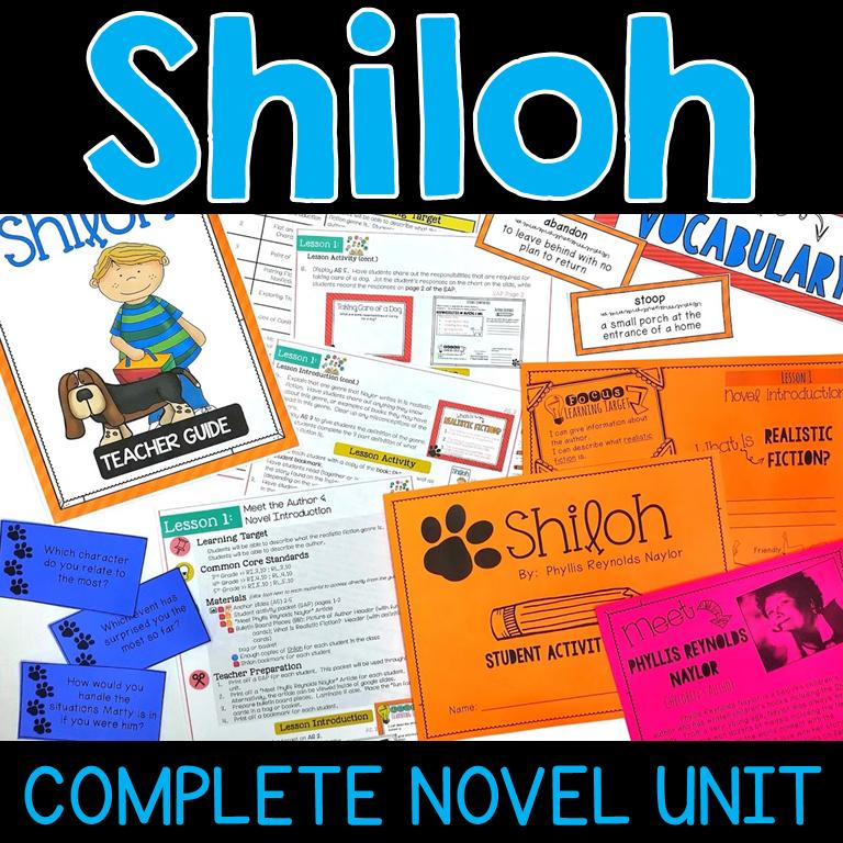 Shiloh Novel Unit