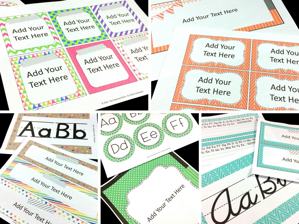 Give your classroom a fresh look with a new look using easy classroom decor elements.