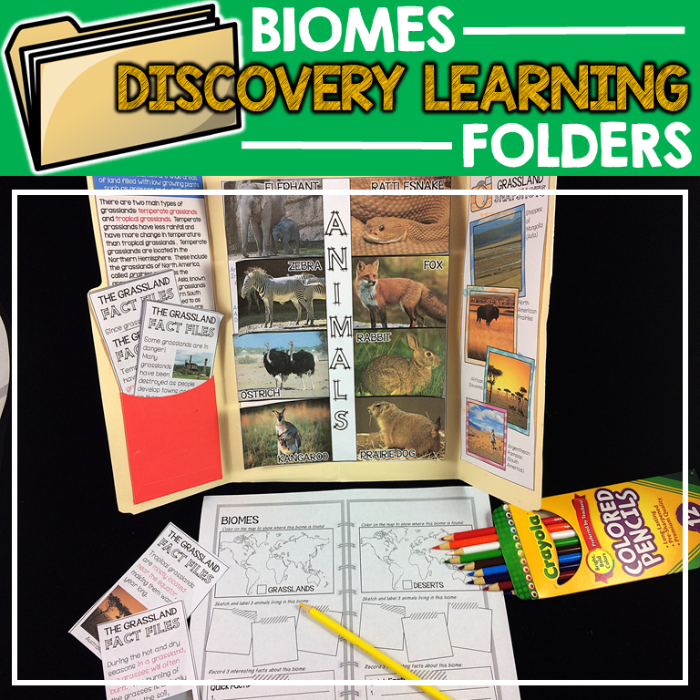 Discovery Learning Folders: Biomes
