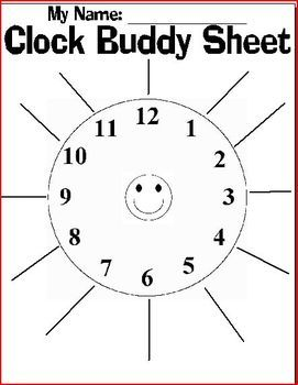 A Buddy Clock is an easy way to partner students up with a variety of students.