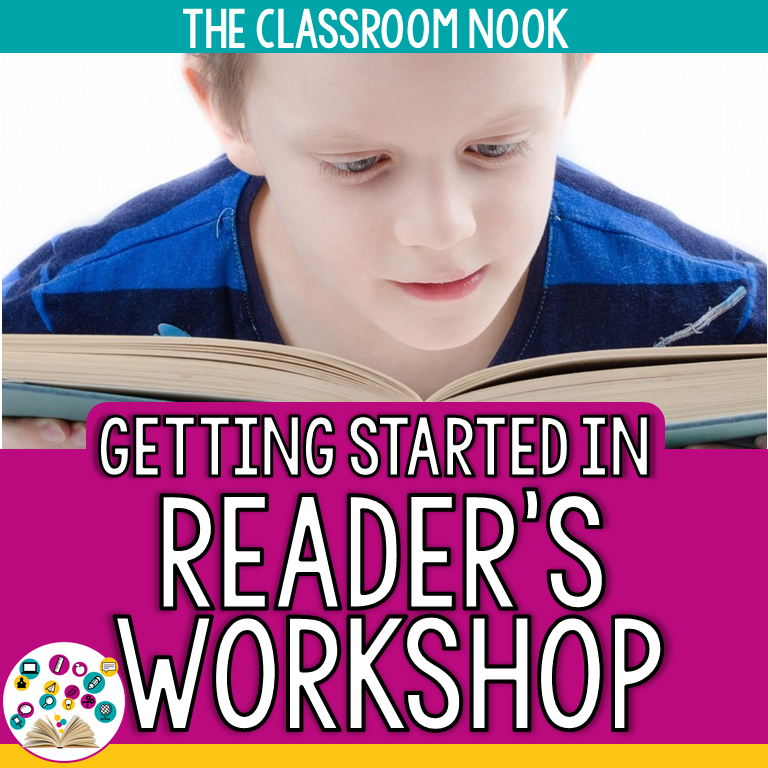 I've also designed an entire unit on how to get started with reader's workshop from day one in your classroom for success all year long!