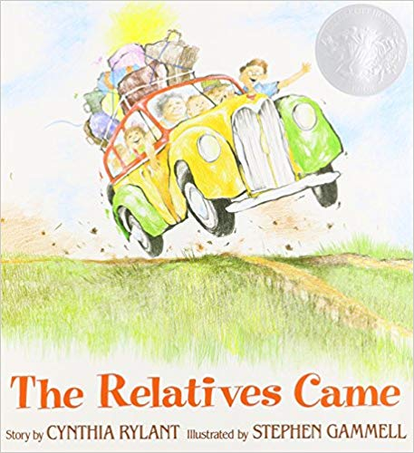 The Relatives Cam e(affiliate link) is a perfect model for introducing watermelon seed writing. In the story, the narrator recounts a time when her relatives came to visit. She then goes into great detail on what they did when the relatives came, how everyone acted, what they talked about...etc...This book shows students how to expand upon a simple moment in time to create an entire story from it.